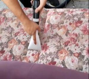 شسشتن مبل در خانه تهران 1