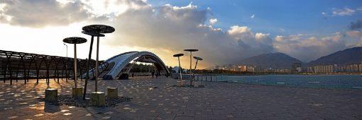 مبل شویی در چیتگر و دریاچه خلیج فارس