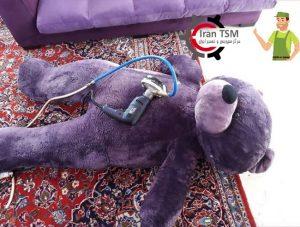 شستشوی عروسک با دستگاه