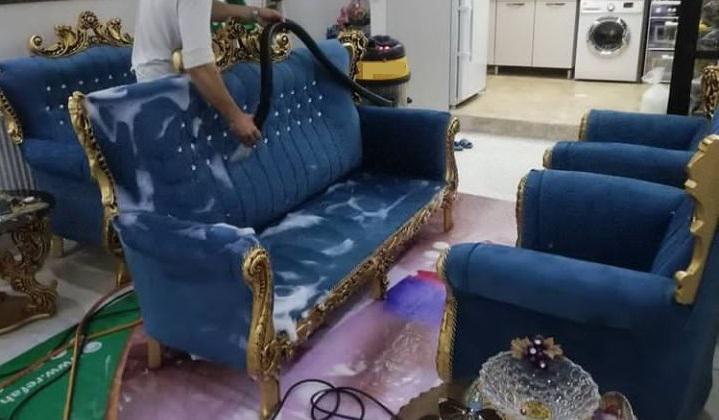 شستشوی مبل سلطنتی در خانه