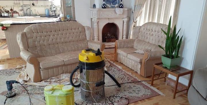 شستشوی مبل در منزل محدوه غرب تهران
