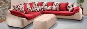 تمیز کردن مبل پارچه ای