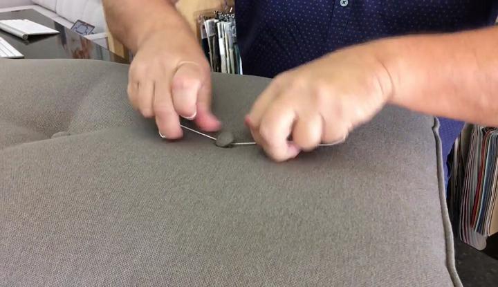 تعمیر دکمه مبل 13