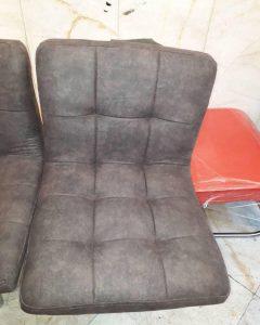 تعویض روکش صندلی چرم به پارچه 4